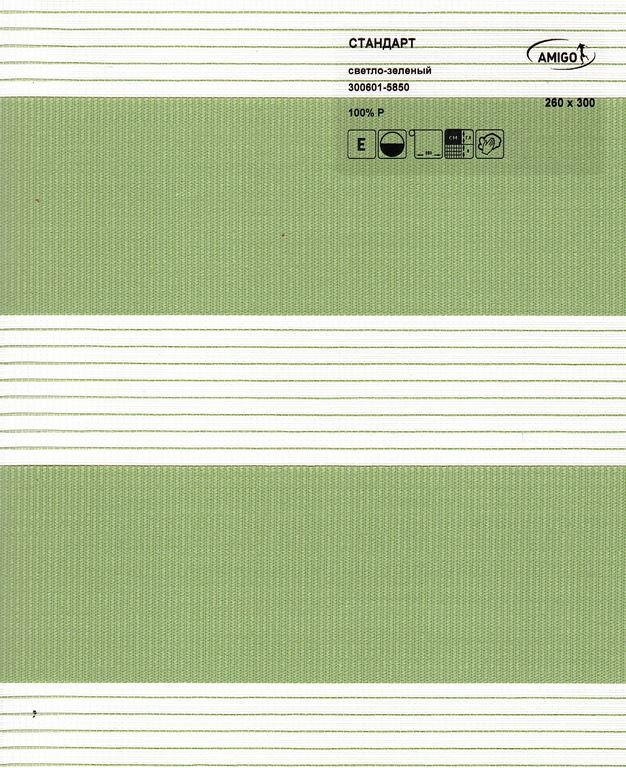 Рулонная штора «День-Ночь СТАНДАРТ, светло-зеленый»